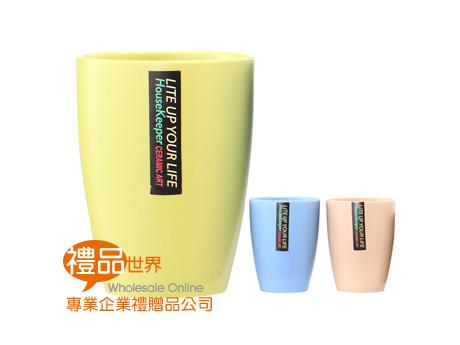 粉漾春色彩陶杯(單入)