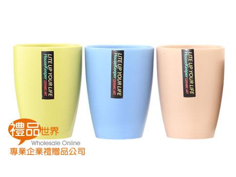 簡約三色陶杯組