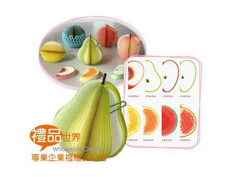 水果造型便條紙
