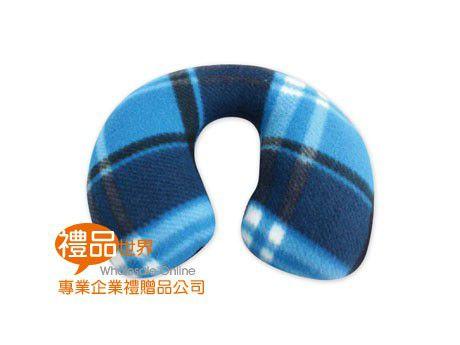 蘇格蘭格紋頸枕