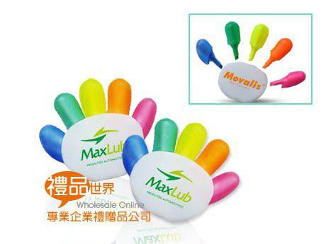 五指造型螢光筆