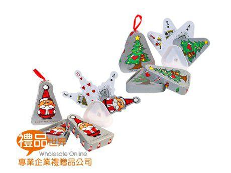 聖誕造型撲克牌