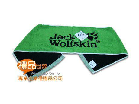 飛狼雙色緹花運動毛巾