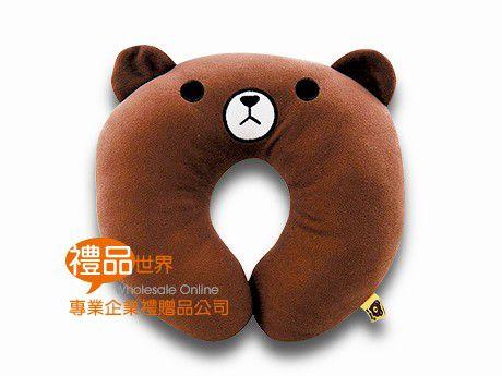 湯姆熊造型頸枕