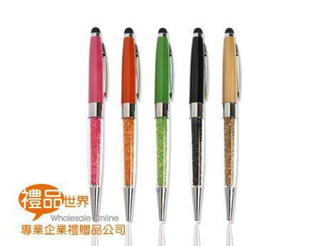 彩鑽水晶觸控筆