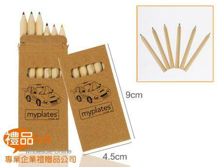 原木六色色鉛筆組