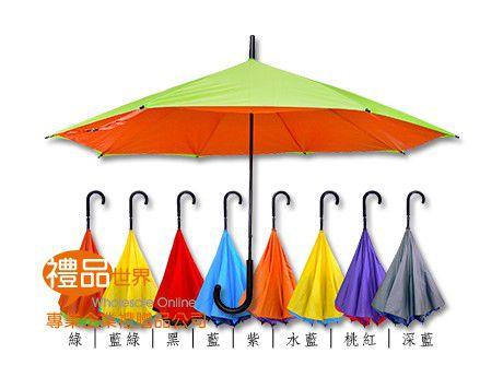 亮彩不滴水反向傘