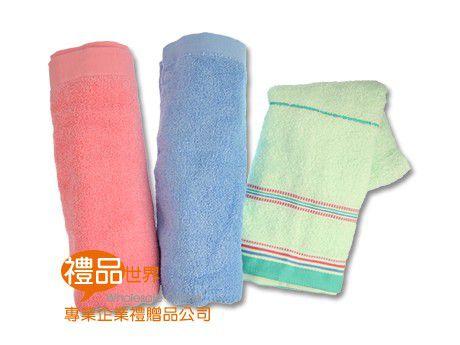 亮彩實色毛巾禮盒組