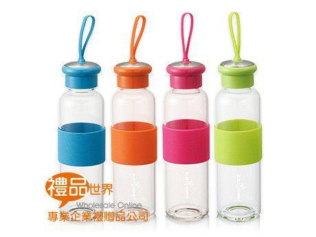 漾彩耐熱玻璃隨手瓶