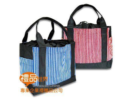 日式條紋午餐袋