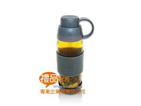 玻璃泡茶隨身瓶500ml