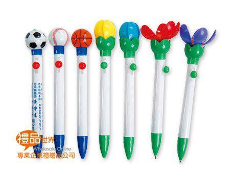 可愛造型彈跳筆