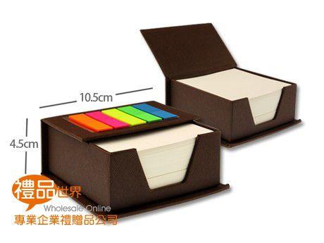 客製化質感布紋便條盒