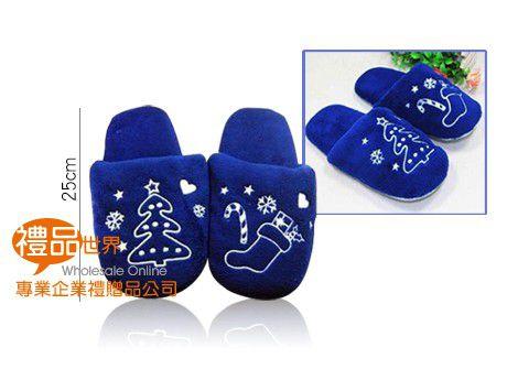 聖誕毛絨拖鞋