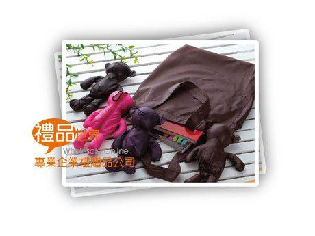 玩偶造型環保購物袋