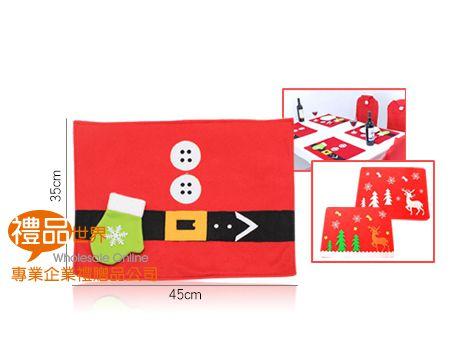聖誕卡通桌墊