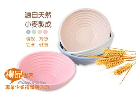 環保小麥碗4入組