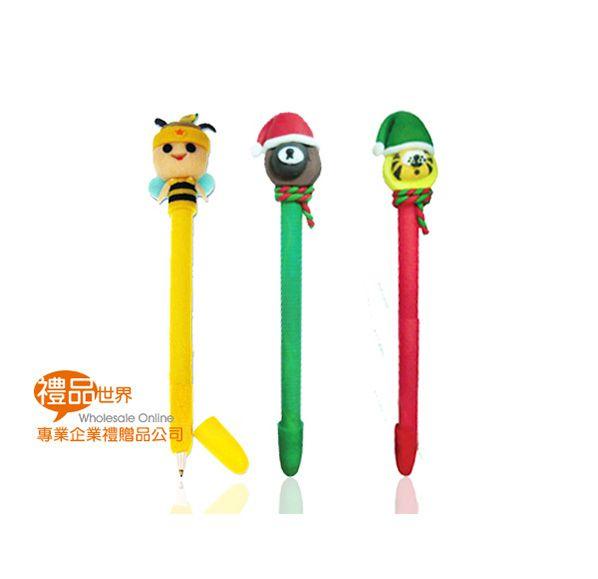 客製化造型軟陶筆