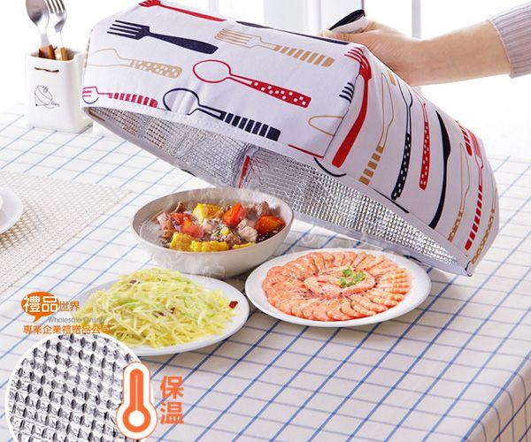 折疊式保溫飯菜罩小號(單入)