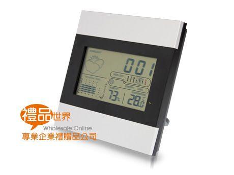多功能溫濕度計時鐘
