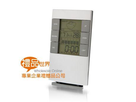 桌立溫溼度計時鐘