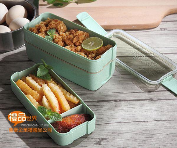 小麥日式三層便當盒
