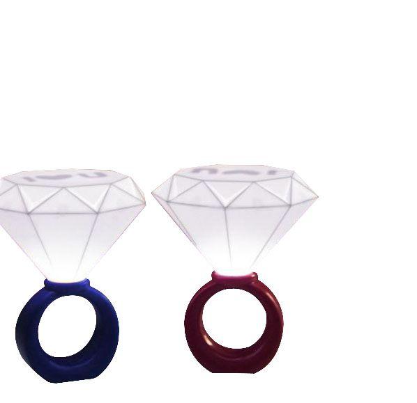 浪漫鑽石戒指燈