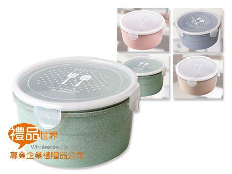 粉漾小麥圓形飯盒