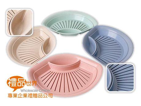 環保小麥扇形餃子盤