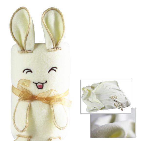可愛兔子毯