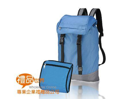 機能輕量折疊後背包