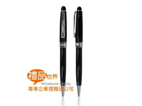 絲紋黑亮原子筆