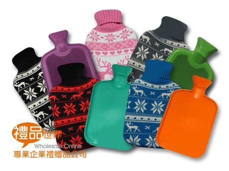 聖誕針織熱水套