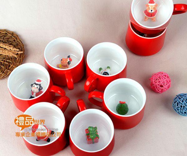 聖誕立體玩偶馬克杯