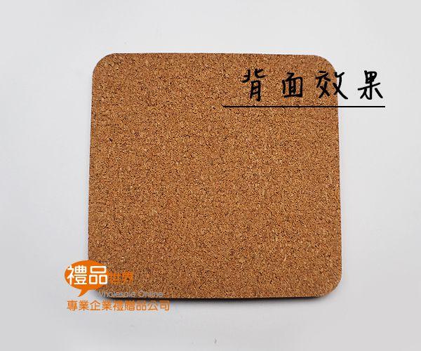 客製化彩印軟木杯墊