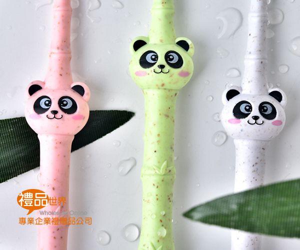 可愛熊貓兒童牙刷(單入)