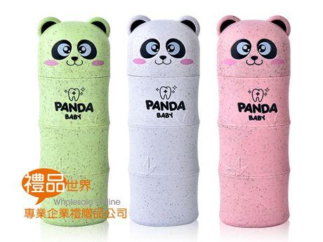 可愛熊貓成人牙刷組