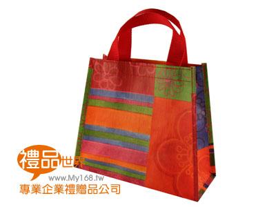 客製化防潑水購物袋25x10x21cm