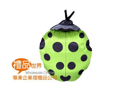 小瓢蟲造型兩用抱枕