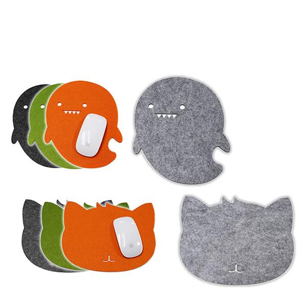 客製化毛氈布滑鼠墊