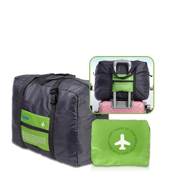 拉桿用摺疊旅行袋