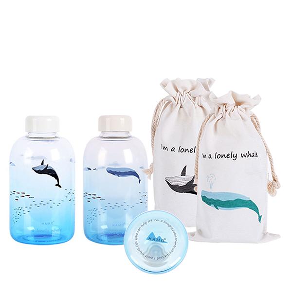 夏日海洋玻璃隨手瓶