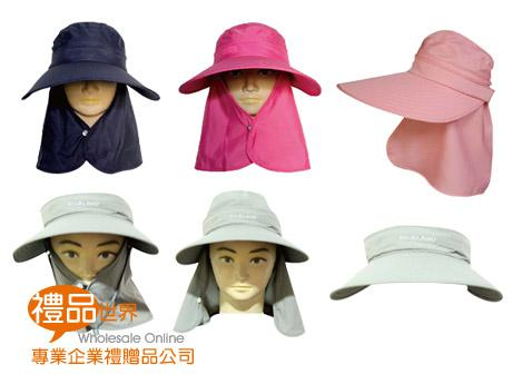 抗UV戶外休閒遮陽圓帽