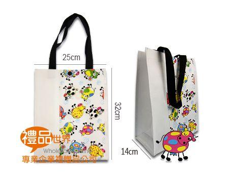防潑水購物袋25x14x32cm