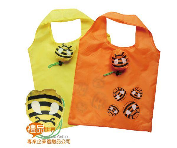 可愛動物折疊購物袋