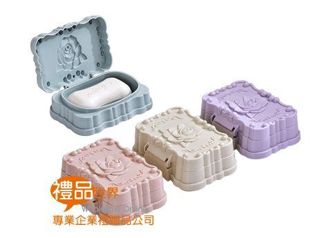 浪漫玫瑰香皂盒