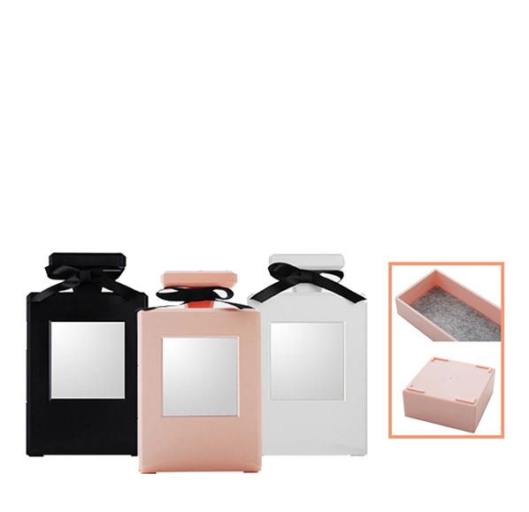 香水瓶造型收納盒