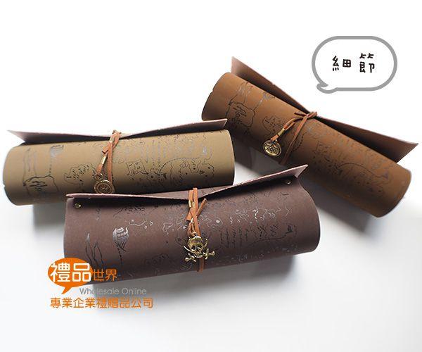卷軸造型筆袋