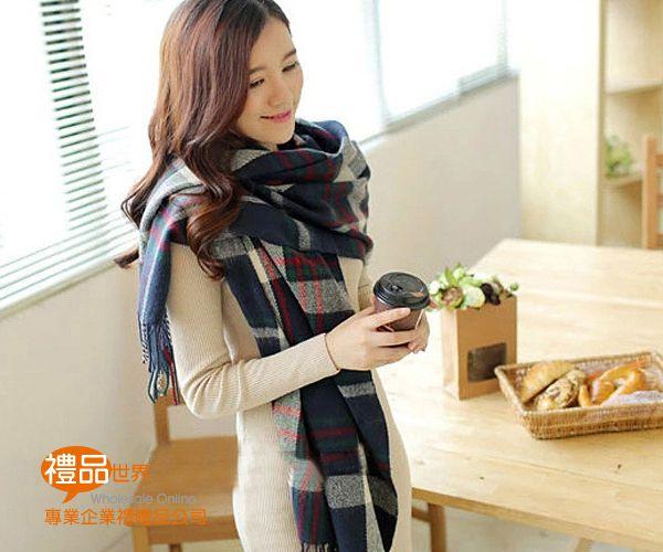 圍巾兩用空調披肩