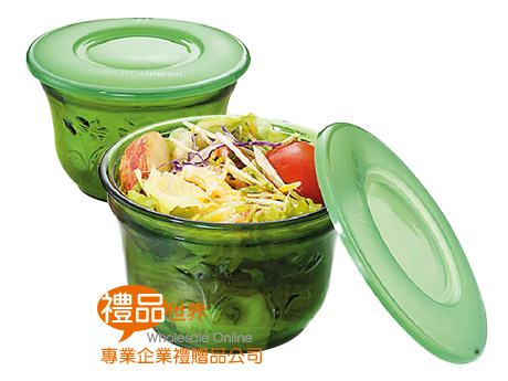 密封翠玉玻璃碗(單入)